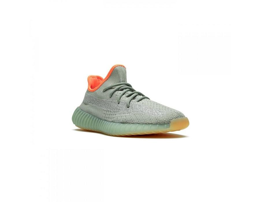 Мужские кроссовки Yeezy Boost 350 V2 Desert Sage ментоловые