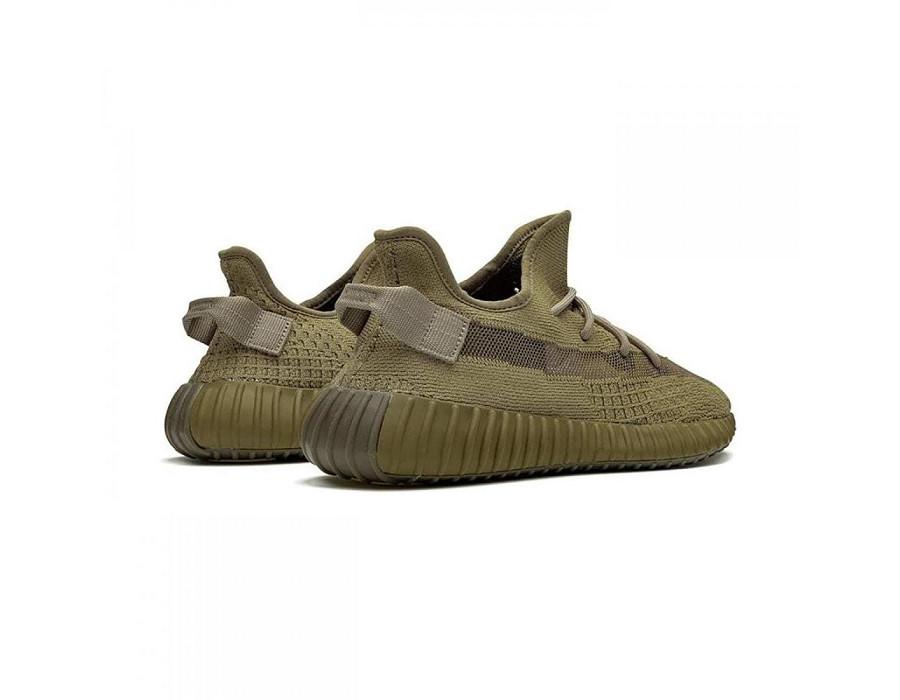 Мужские кроссовки Adidas Yeezy Boost 350 V2 Earth хаки