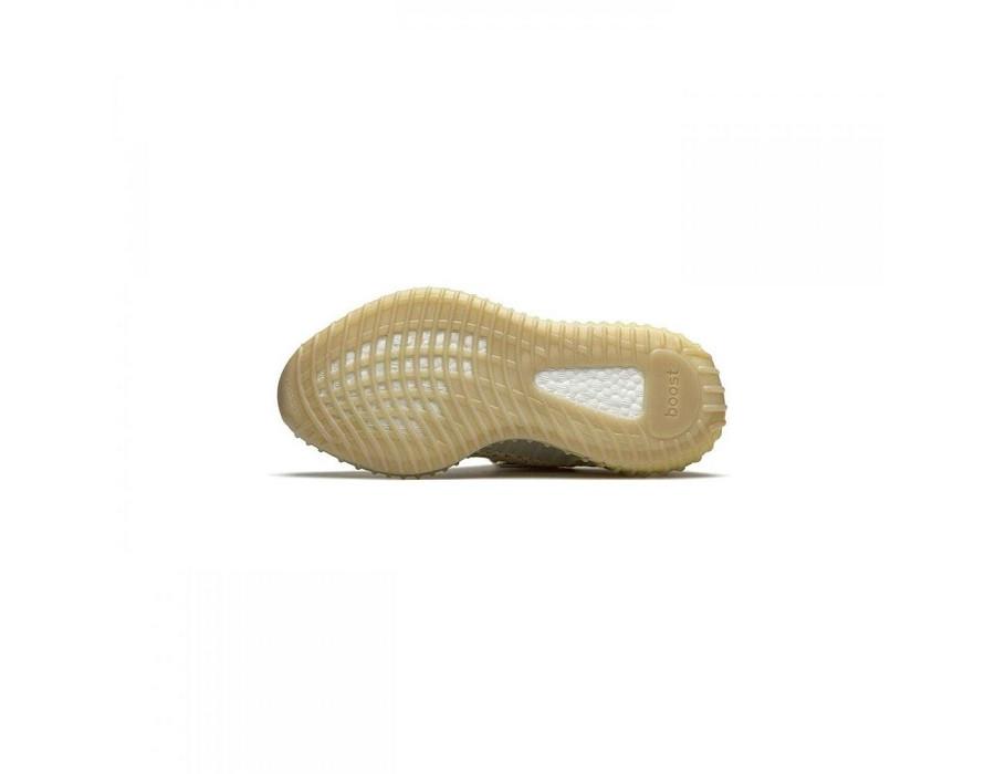 Мужские кроссовки Adidas Yeezy Boost 350 V2  Flax светло-зеленые