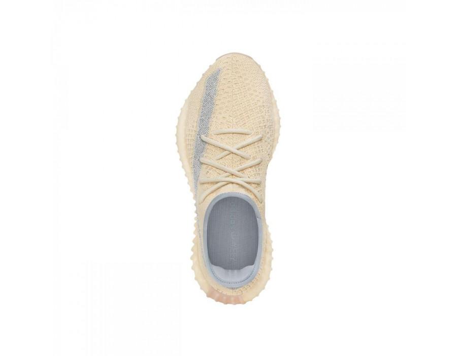 Мужские кроссовки Adidas Yeezy Boost 350 V2 Linen бежевые