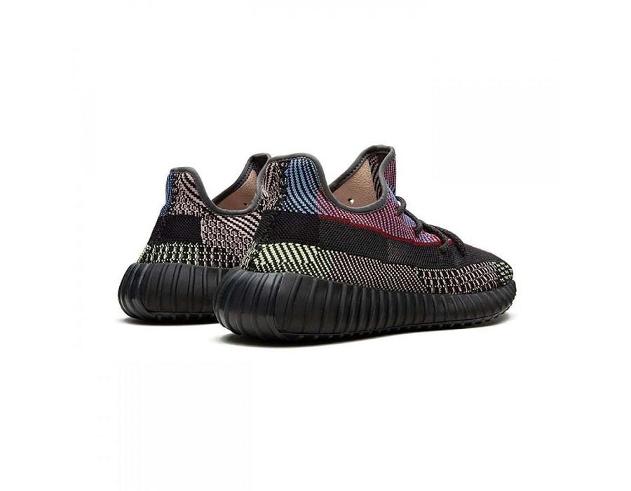 Женские кроссовки Adidas Yeezy Boost 350 V2 Yecheil (Non-Reflective) мульти