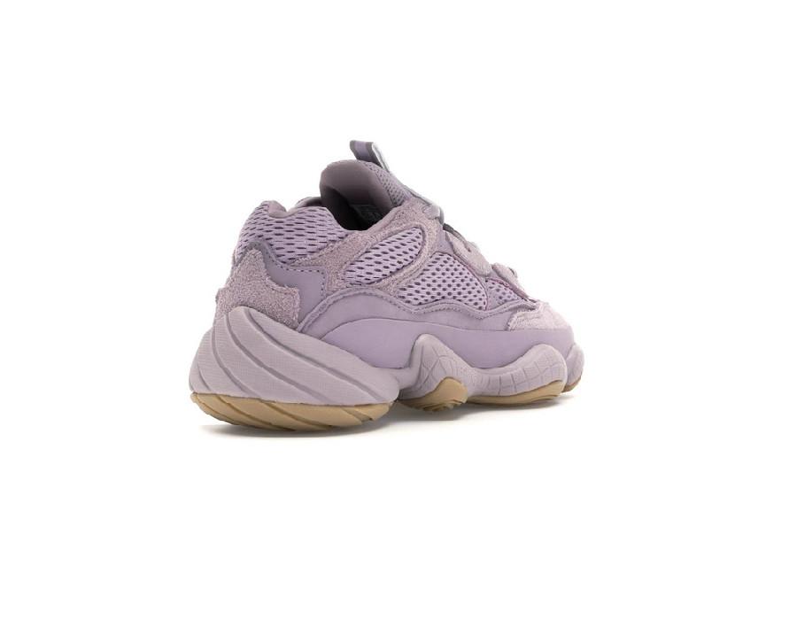 Женские кроссовки Adidas Yeezy Boost 500 Soft Vision фиолетовые