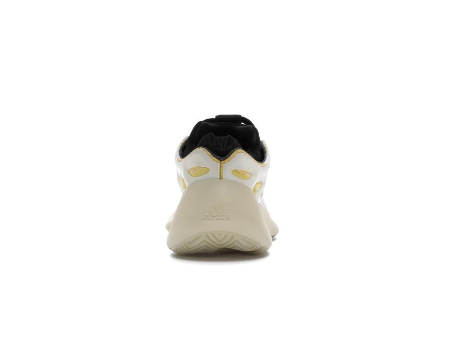 Мужские кроссовки Adidas Yeezy Boost 700 V3 Safflower бело-желтые