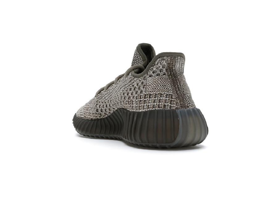 Женские кроссовки Adidas Yeezy Boost 350 V2 Ash Stone коричневые