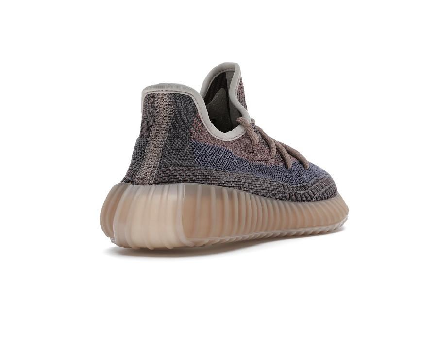 Женские кроссовки Adidas Yeezy Boost 350 V2 Fade коричневые