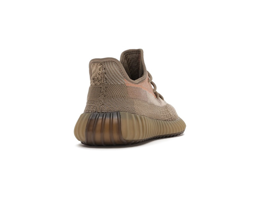 Женские кроссовки Adidas Yeezy Boost 350 V2 Eliada / Sand Taupe коричневые