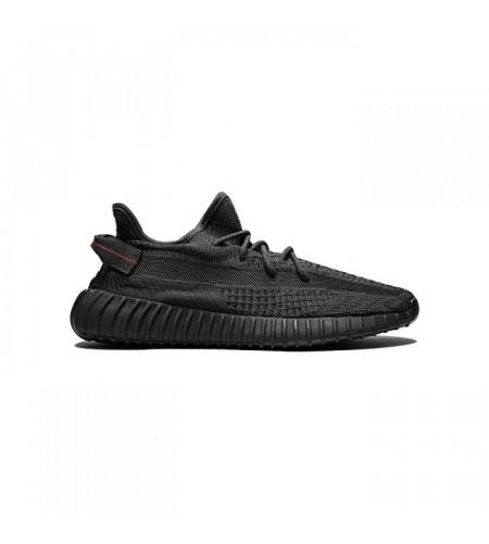 Мужские кроссовки Yeezy Boost 350 V2 Black (Non-Reflective) черные