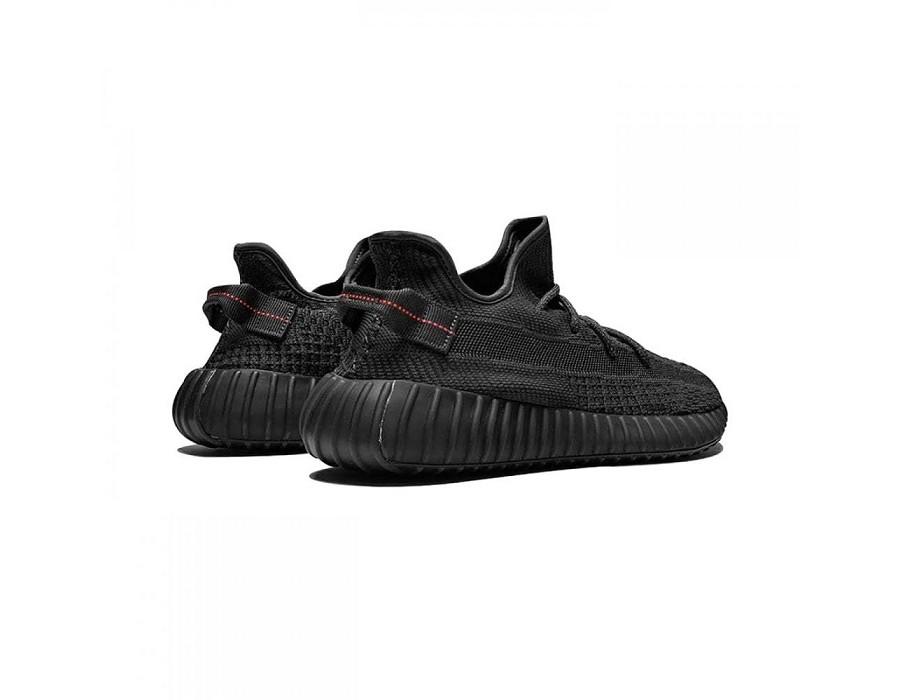 Женские кроссовки Yeezy Boost 350 V2 Black (Non-Reflective) черные