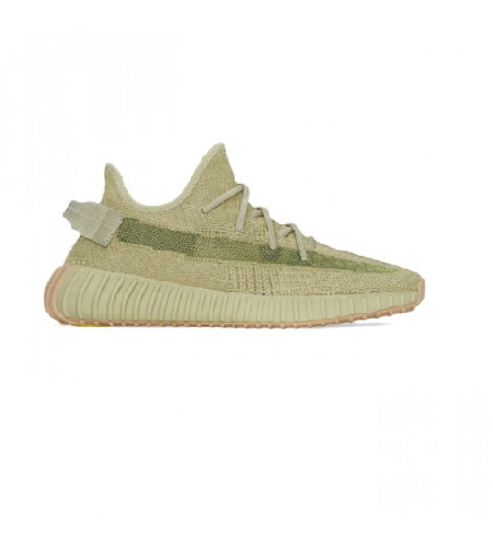 Женские кроссовки Adidas Yeezy Boost 350 V2 Sulfur бежевые