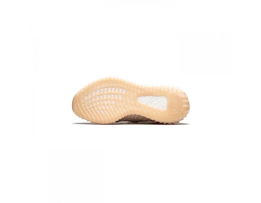 Женские кеды Adidas Yeezy Boost 350 V2 Synth (Non-Reflective) бледно-розовые