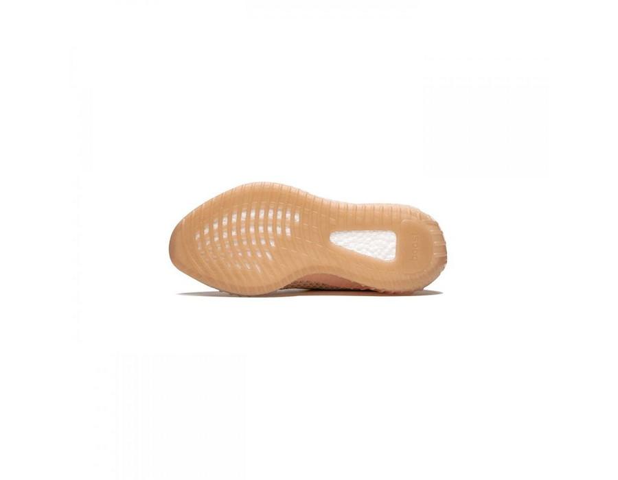Женские кроссовки Yeezy Boost 350 V2 Clay персиковые