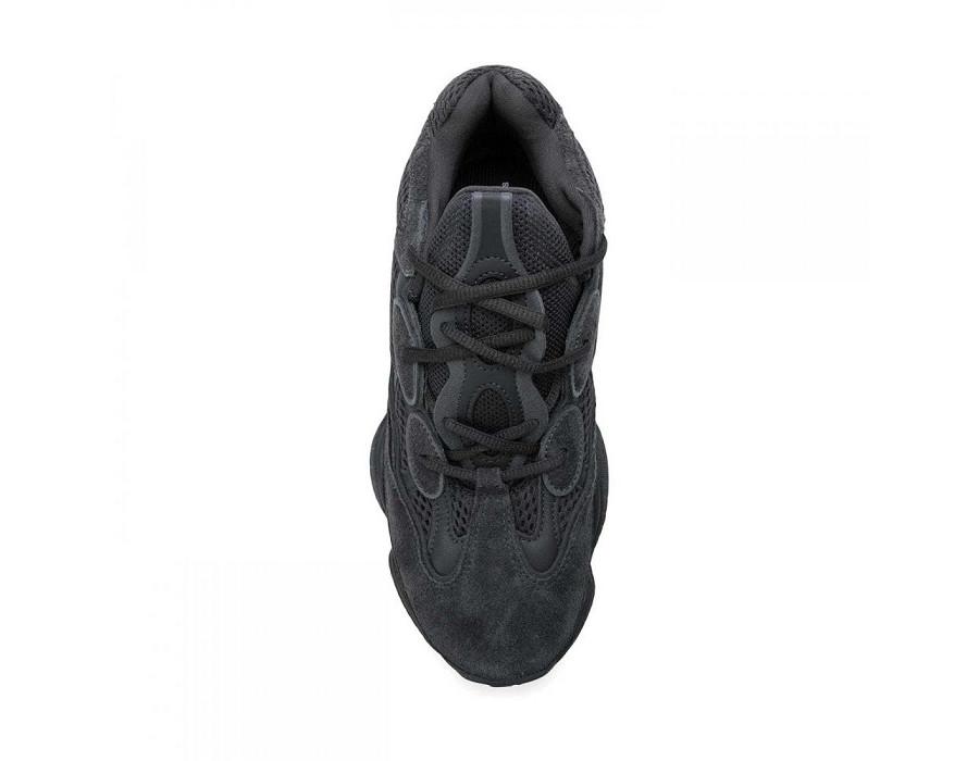 Мужские кроссовки Adidas Yeezy Boost 500 Black черные