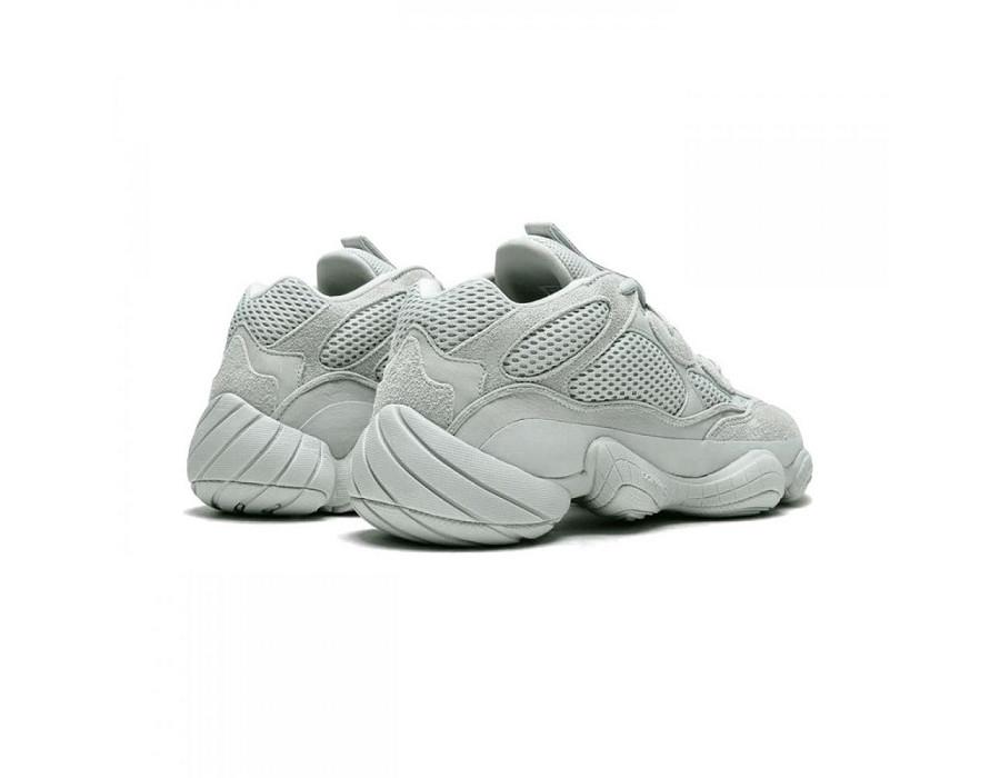 Женские кроссовки Adidas Yeezy Boost 500  Salt серые