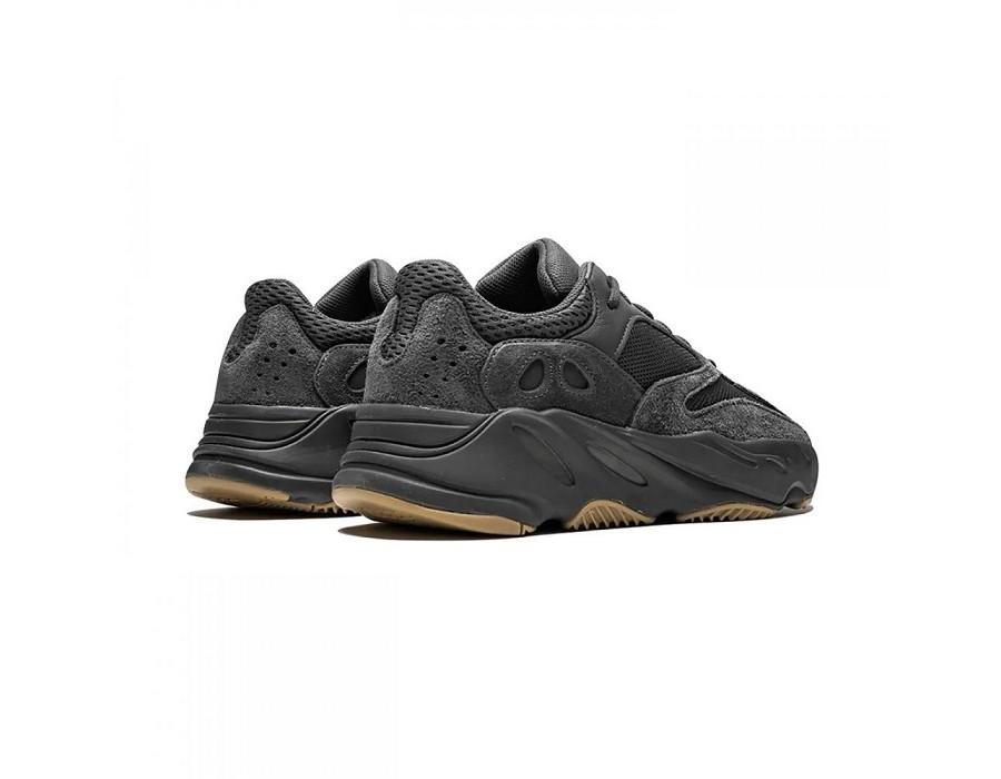 Мужские кеды Adidas Yeezy Boost 700 Utility Black черные
