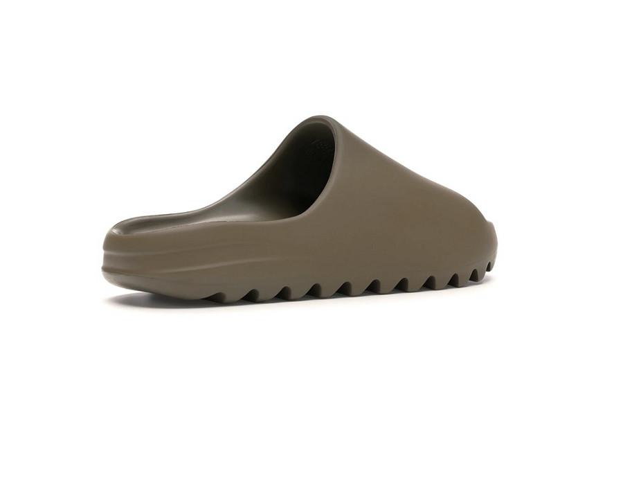Женские слайдеры Yeezy Slide Earth Brown коричневые