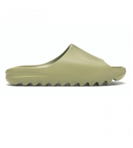 Женские слайдеры Yeezy Slide Resin зеленые