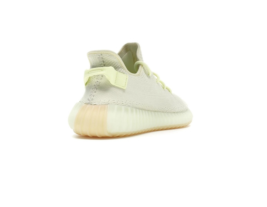 Женские кроссовки Adidas Yeezy Boost 350 V2 Butter бежевые