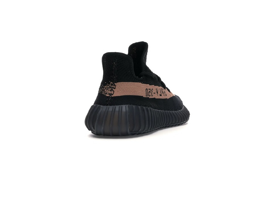 Женские кроссовки Adidas Yeezy Boost 350 V2 Core Black Copper черные