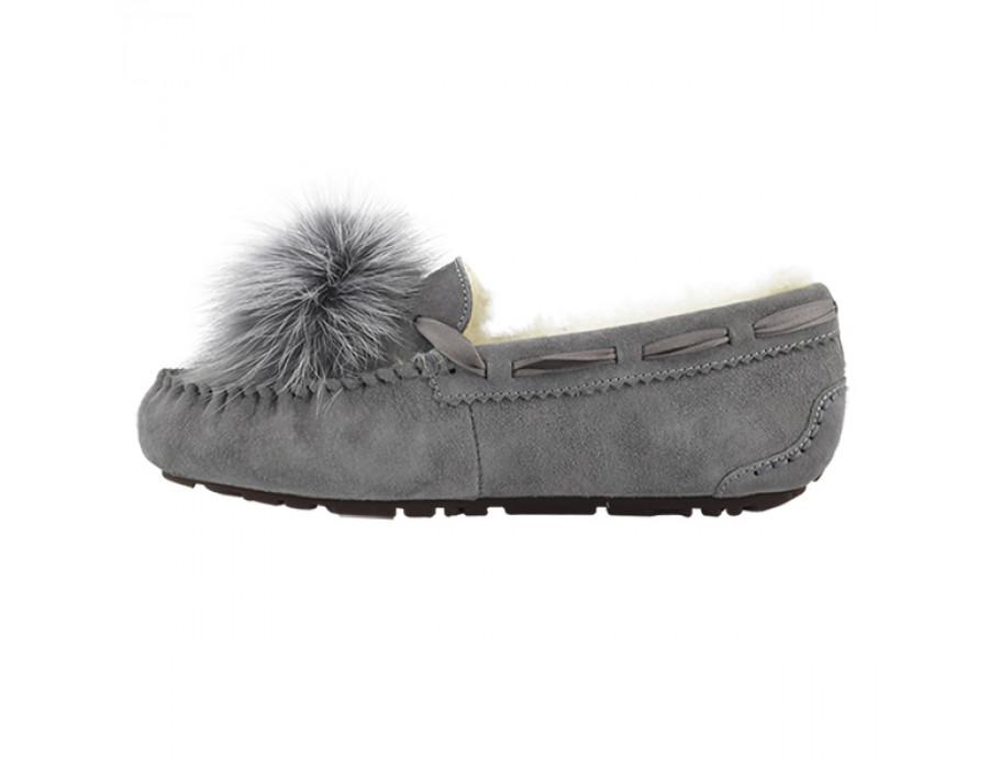 Dacota Pom-Pom Grey