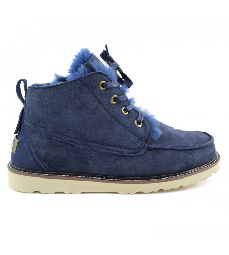 Men Boots Beckham Navy