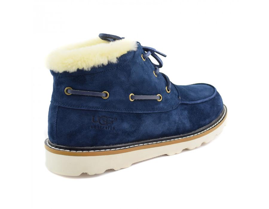 Men Ailen Boots Navy
