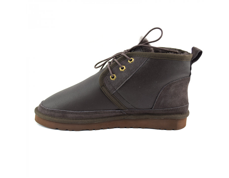 Men Boots Neumel Metallic Chocolate