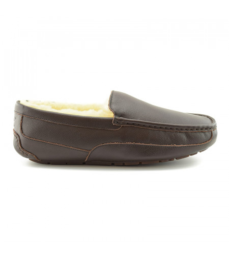 Men's Ascot Chocolate Leather