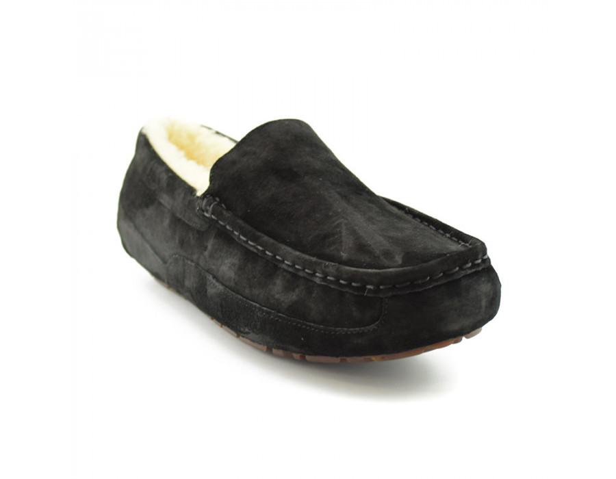 Men's Ascot Black