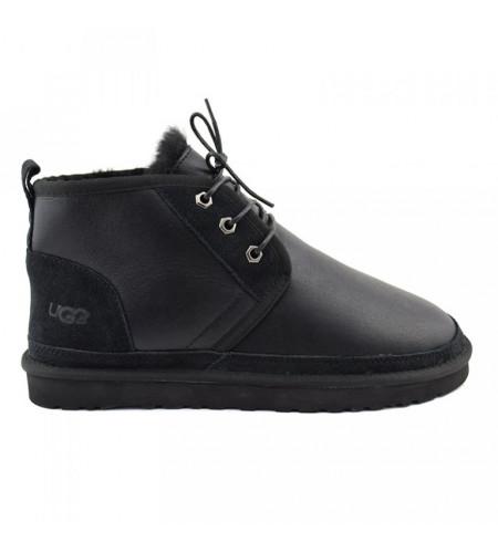 Men Boots Neumel Metallic Black