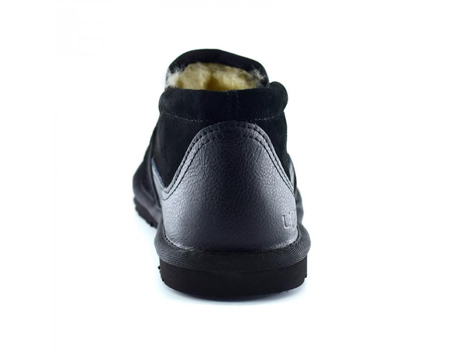 Тапочки угг TASMAN SLIPPER BLACK