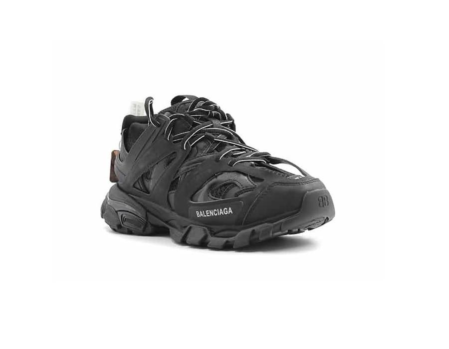 Мужские кроссовки Баленсиага трек trainer черные