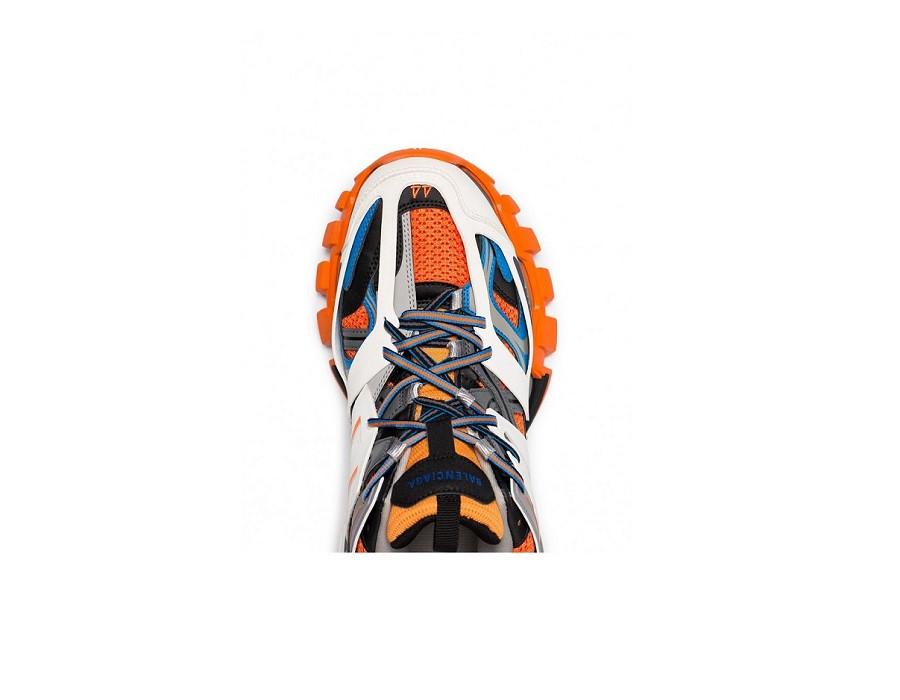 Мужские кроссовки Баленсиага трек trainer разноцветные