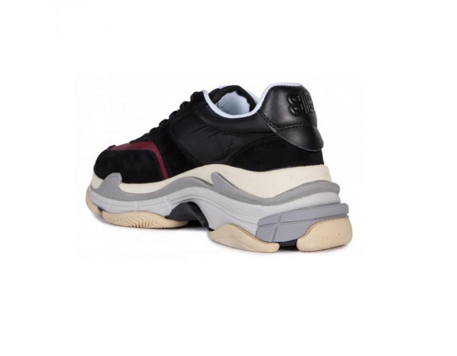 Женские кроссовки Balensiaga Triple S Разноцветные