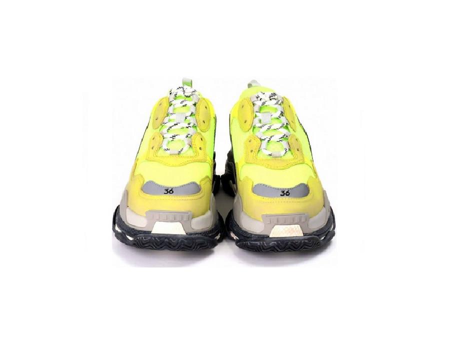 Женские кроссовки Balenciaga Triple S Светло-зеленые