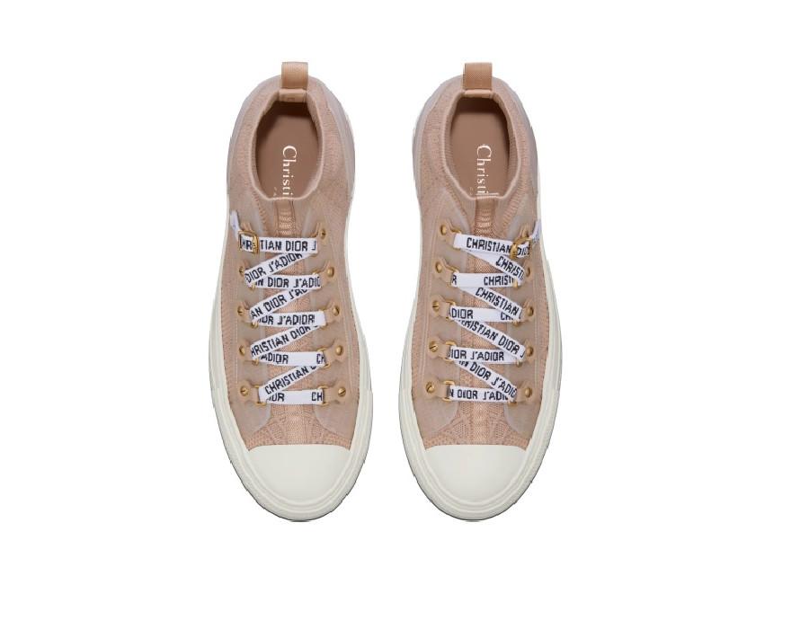 Женские сникеры Dior Walk'N'Dior Nude натуральные