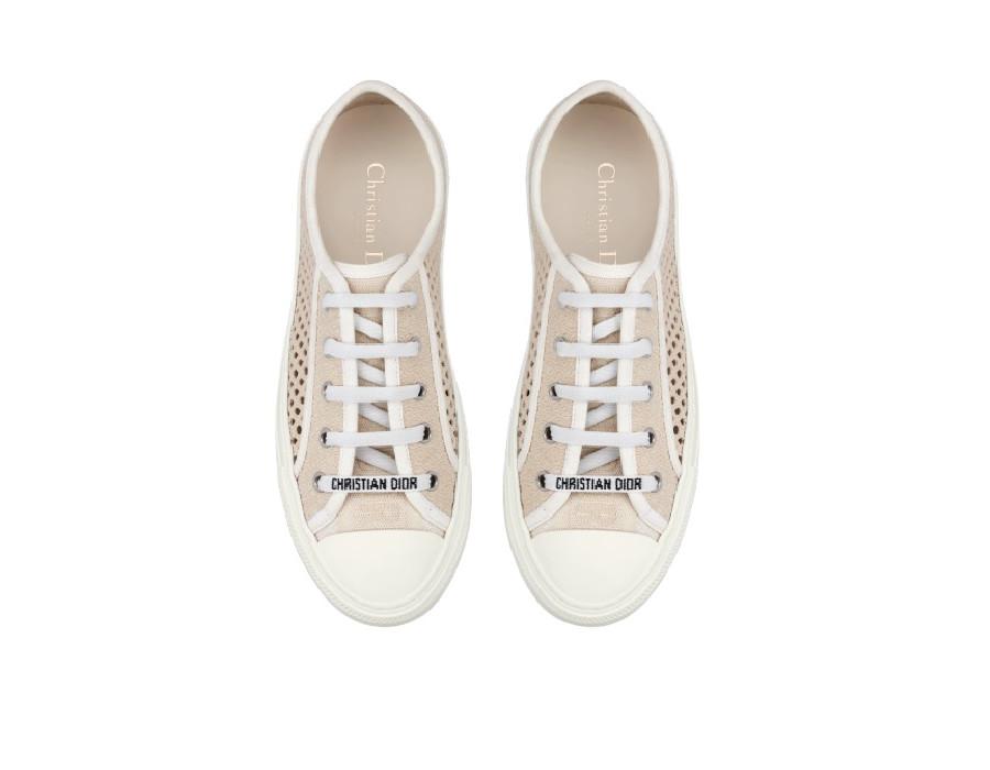 Женские сникеры Dior Walk'N'Dior Cream кремовые