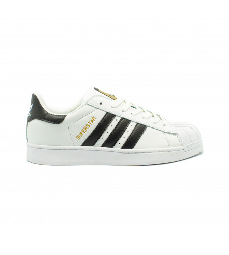 Мужские кроссовки Adidas Superstar White-Black
