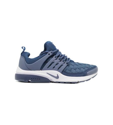 Мужские кеды Nike Air Presto Woven Navy синие