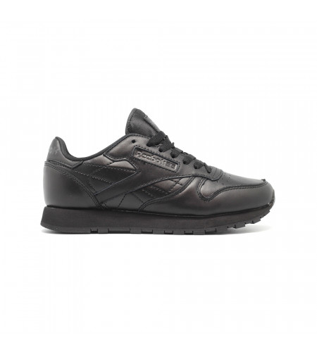 Мужские кроссовки Reebok Classic Lether Black - BeInKeds.ru