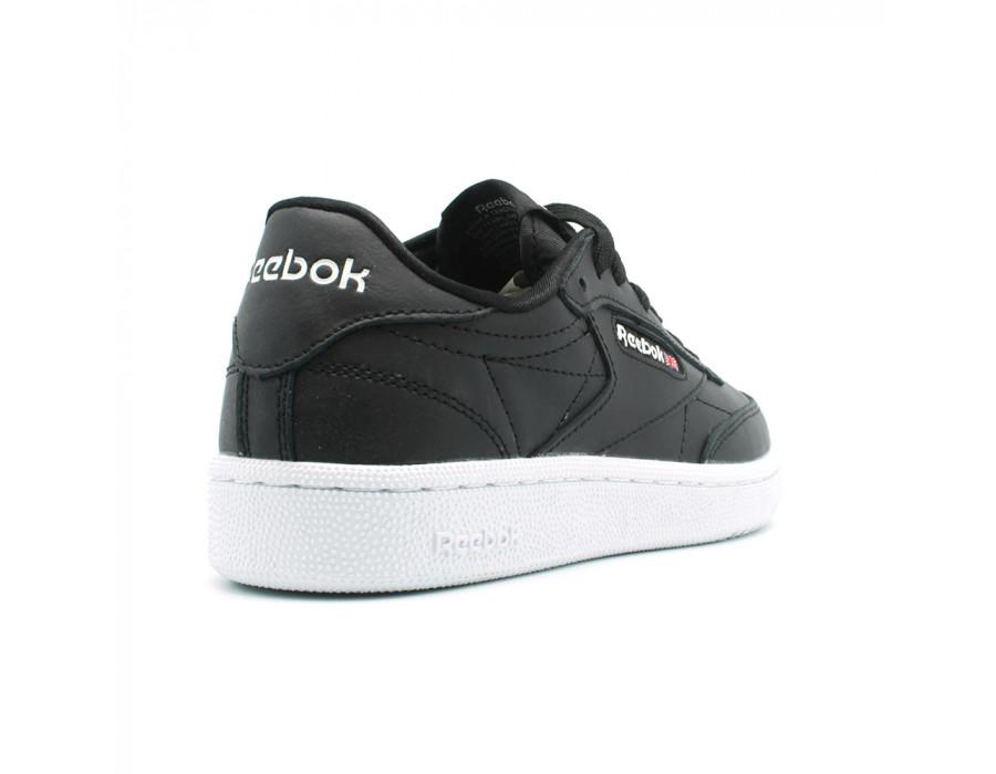 Кроссовки Мужские Reebok Club C85 Leather Black за 5290 руб.
