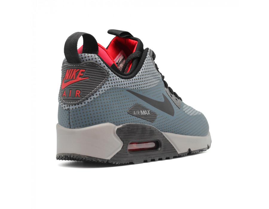 Мужские кроссовки Nike Air Max 90 ES SneakerBoot  Grey