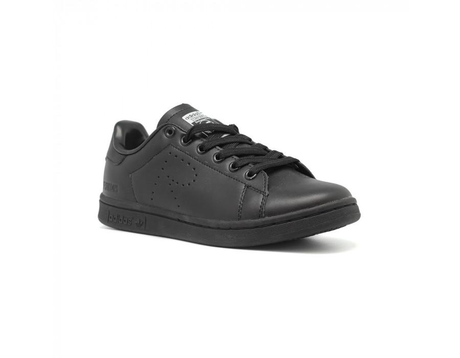 Женские кеды Adidas Stan Smith By Raf Simons черные