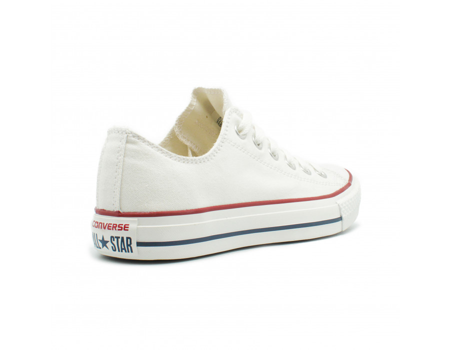 Женские кеды Converse All Star Chuck Taylor Low White Classic белые