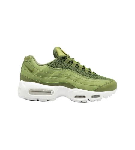 Мужские кеды Nike Air Max 95 зеленые