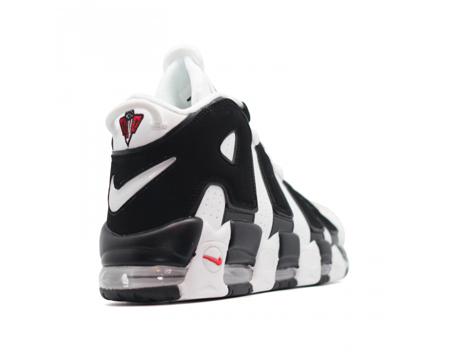 Мужские кеды Nike Air Max Uptempo 96 бело черные