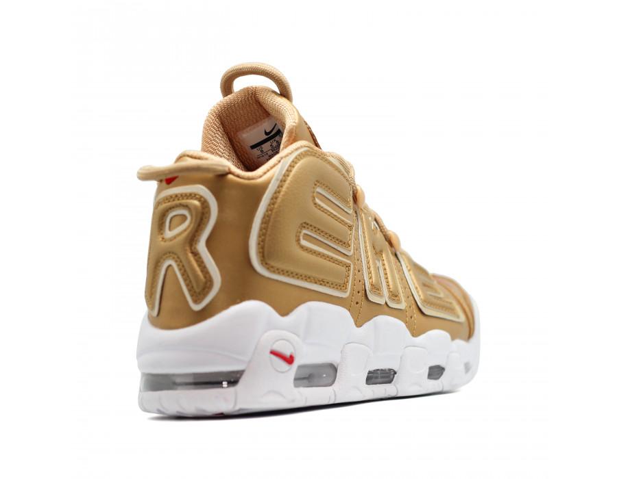 Женские кеды Nike Air Max Uptempo 96 золотые