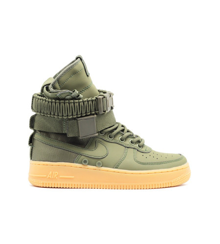 Женские кроссовки Nike SF AF1 Special Field Air Force 1 Women Olive