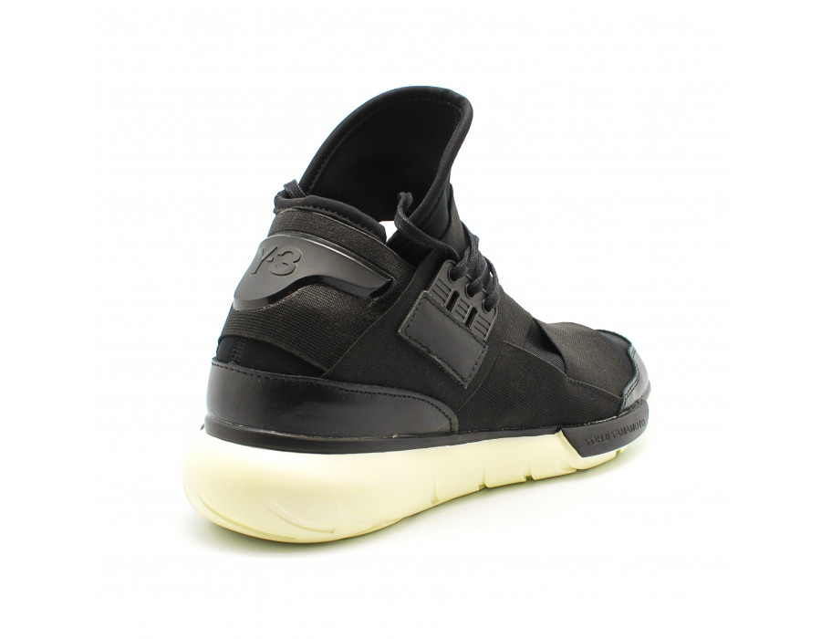 Кроссовки Мужские Y-3 Qasa Racer Hight Black&White Edition