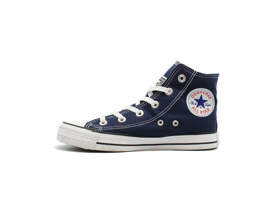 Женские кеды Converse All Star Chuck Taylor High Navy синии