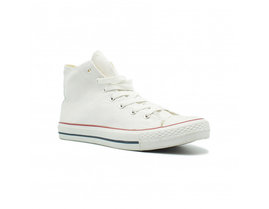 Женские кеды Converse All Star Chuck Taylor High White Classic белые